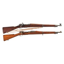 Two U.S. Bolt Action Rifles -A) Remington Model 03-A3 Bolt Action Rifle