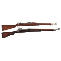 Two U.S. Bolt Action Rifles -A) Remington Model 1903 Bolt Action Rifle