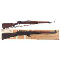 Two U.S. Rifles -A) U.S. Springfield Model 1903 Bolt Action Rifle