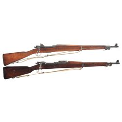 Two 1903 Bolt Action Rifles -A) Smith & Corona Model 03-A3 Bolt Action Rifle