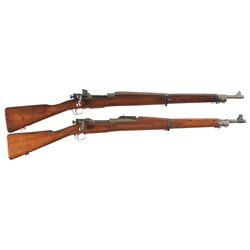 Two 1903 Bolt Action Rifles -A) Remington Model 03-A3 Bolt Action Rifle