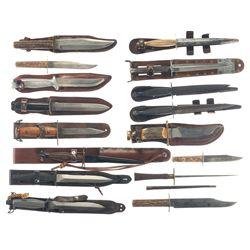 Grouping of Edged Weapons