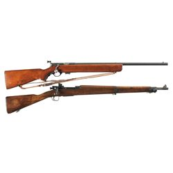 Two U.S. Military Bolt Action Rifles -A) Mossberg Model 44 U.S. Army Bolt Action Rifle with Sling