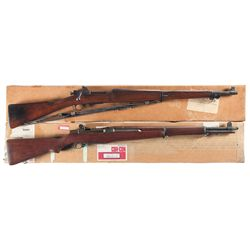 Two U.S. Military Rifles -A) U.S. Remington Model 1903-A3 Bolt Action Rifle