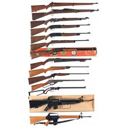Six Rifles, Seven BB Guns and One Drill Rifle -A) Savage Model 19 NRA Bolt Action Rifle