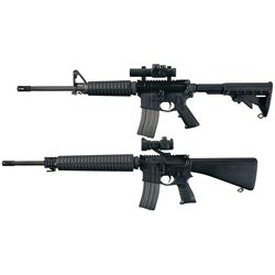Two AR-15 Style Rifles -A) Stag Arms Stag-15 Semi-Automatic Rifle with Bushnell Dot Scope