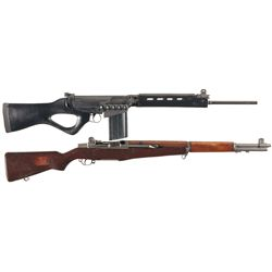 Two Semi-Automatic Rifles -A) Century Arms FAL Sporter Semi-Automatic Rifle