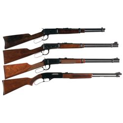 Four Lever Action Long Guns -A) Rossi Amadeo Model 92 Lever Action Carbine