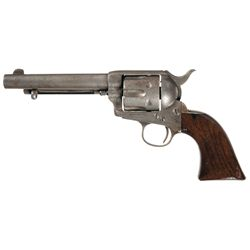 U.S. Colt Single Action Army Artillery Model Revolver with Letter