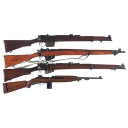 Three Rifles and One Carbine -A) RFI 2A1 Bolt Action Rifle