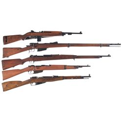 Five Military Longarms -A) U.S. Quality Hardware M1 Semi-Automatic Carbine