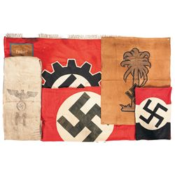 Nazi Flags and Banners