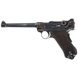 Desirable 1906 DWM Naval Luger Semi-Automatic Pistol
