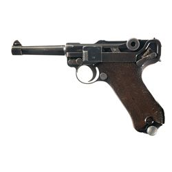 Mauser S/42 Code G Date Luger Semi-Automatic Pistol