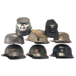 German Style Helmets and Hats