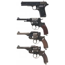 Four Hand Guns -A) Norinco Type 54 Semi-Automatic Pistol