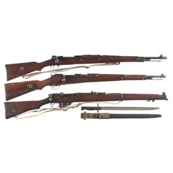 "Three European Rifles -A) Nazi Occupation Luftwaffe Marked Steyr ""660/ 1939"" Code G29/40 Bolt Action"
