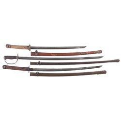Three Japanese Swords