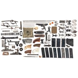 Large Lot of Miscellaneous Gun Parts