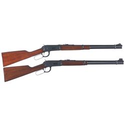 Two Winchester Model 94 Lever Action Rifles -A) Winchester Model 94 Lever Action Rifle