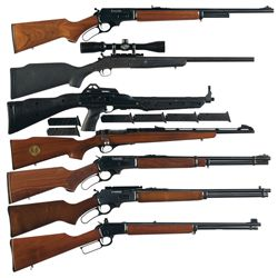 Seven Sporting Long Guns -A) Marlin Model 444SS Lever Action Rifle