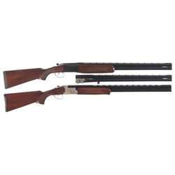 Two Over/Under Shotguns -A) Stoeger Model Condor Over/Under Shotgun with Extra Barrel