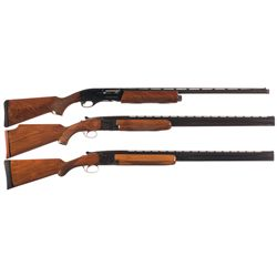 Three Shotguns -A) Remington Model 11-87 Sporteno-Clays Premier Semi-Automatic Shotgun