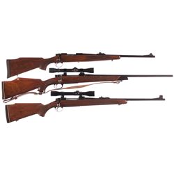 Three Bolt Action Rifles -A) Remington Model 700 Bolt Action Rifle