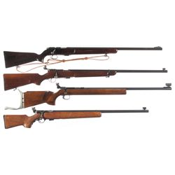Four Bolt Action Target Rifles -A) U.S. Remington 513-T Bolt Action Rifle