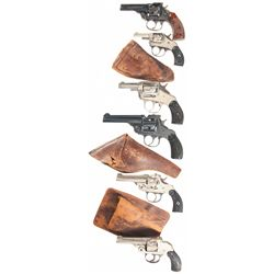 Six Double Action Revolvers -A) Harrington & Richardson Premier Model Double Action Revolver