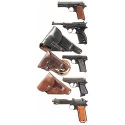 Five European Semi-Automatic Pistols -A) Femaru-FEG Model 1937 Semi-Automatic Pistol