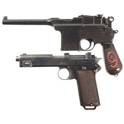 Two Semi-Automatic Pistols -A) Astra Model 900 Semi-Automatic Pistol