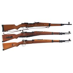Three Bolt Action Rifles -A) Colombian Contract Madsen G/A Bolt Action Rifle