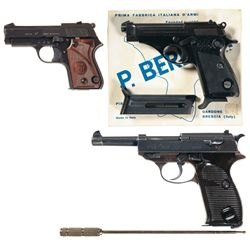 Three European Semi-Automatic Pistols -A) Unique Model L Semi-Automatic Pistol