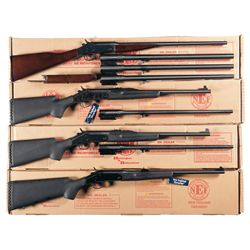 Four Boxed Single Shot Long Guns -A) Harrington & Richardson Pardner Model Single Shot Shotgun with