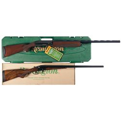 Two Remington Shotguns -A) Remington 105CTi Semi-Automatic Shotgun with Case