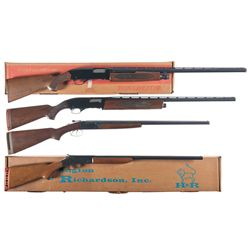 Four Shotguns -A) Winchester Model 1200 Slide Action Shotgun with Box