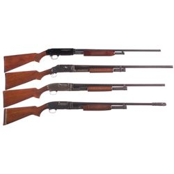 Four Slide Action Shotguns -A) Mossberg Model 500EG Slide Action Shotgun