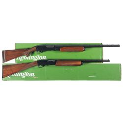 Two Boxed Remington Shotguns -A) Remington 870 Wingmaster Slide Action Shotgun