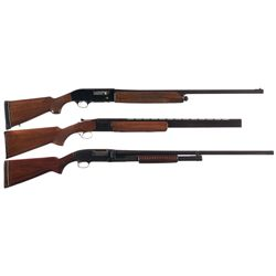 Three Shotguns -A) Beretta Model AL-1 Semi-Automatic Shotgun