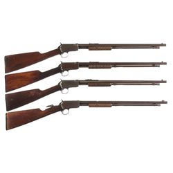 Four Winchester Model 06 Slide Action Rifles -A) Winchester Model 06 Slide Action Rifle
