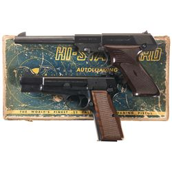 Two Semi-Automatic Pistols -A) High Standard Dura-Matic M-101 Semi-Automatic Pistol with Box