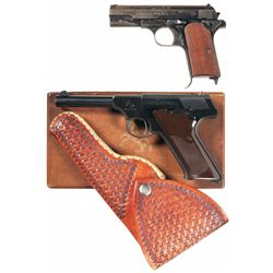Two Semi-Automatic Pistols -A) Nazi Proofed Femaru Model 1937 Semi-Automatic Pistol