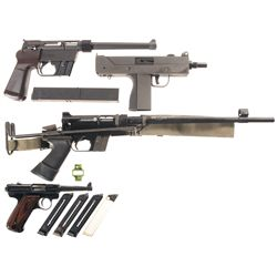Three Semi-Automatic Pistols and One Carbine -A) Charter Arms Explorer II Semi-Automatic Pistol