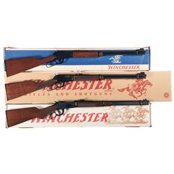 Three Boxed Winchester Lever Action Rifles -A) Winchester Model 9422M XTR Lever Action Rifle