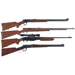 Four Rifles -A) Marlin Model Golden 39A Lever Action Rifle