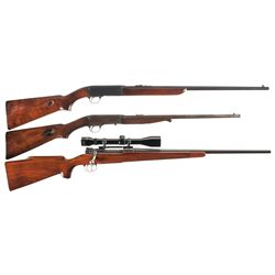 Two Rifles -A) Remington Model 241 Speedmaster Semi-Automatic Rifle