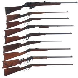 Nine Rifles -A) BSA No.1 SMLE MK III Bolt Action Rifle