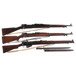 Three Bolt Action Rifles -A) U.S. Springfield Model 1903 Bannerman Bolt Action Rifle with Sling