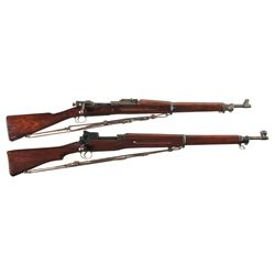 Two U.S. Bolt Action Rifles -A) U.S. Springfield Model 1903 Bolt Action Rifle with Sling